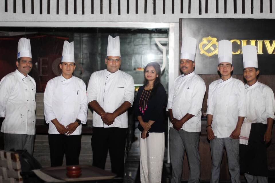 With Chef Kakri and Chef Godiyal and their most efficient and courteous team