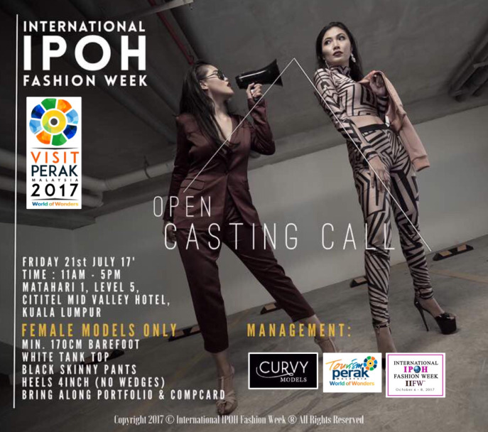 Grand Launch-International IPOH Fashion Week (IIFW™)