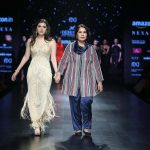 Adarsh Gill & Sofiya Azad launches the New Autumn Winter Collection 2018 at Amazon India Fashion Week